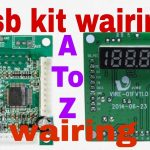 How To Make Usb Kit Wairing || Simpel Make Usb Sd Mp3 Player Kit   Wiring Diagram Usb Player