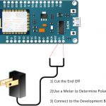 How To Power Nodemcu Esp 12E Board | Henry's Bench   Wall Wart Mini Usb Wiring Diagram