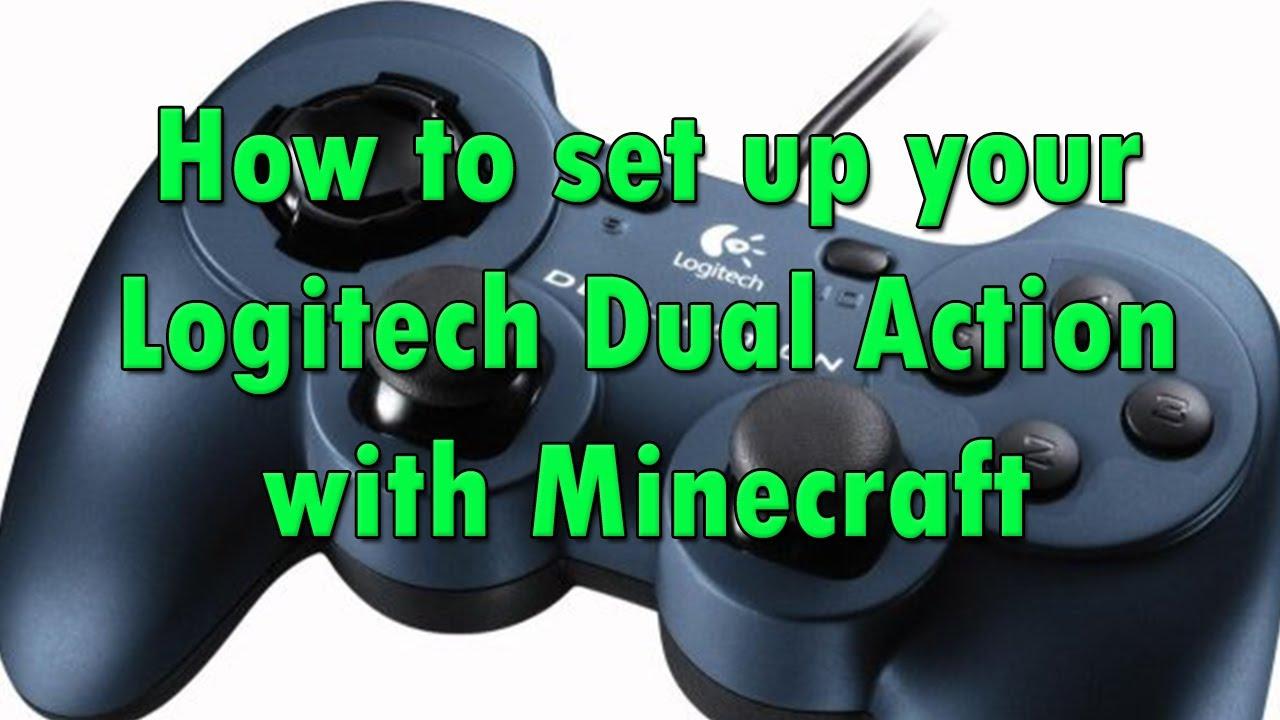 How To Set Up Your Logitech F310/dual Action Gamepad With Minecraft - Logitech Controller F310 Usb Wiring Diagram