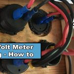 How To Wire In A Volt Meter, Usb And Lighter Socket In A Camper Van   Voltmeter Usb Port Switch Rv Wiring Diagram