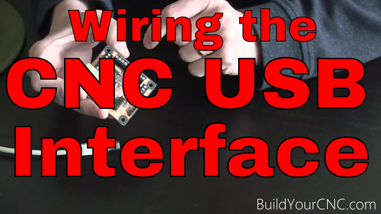 How To Wire The Usb Cnc Controller/interface Part 1 - Youtube - Usb Breakout Wiring Diagram