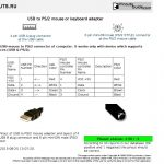 Hp Ps2 To Usb Wire Diagram | Wiring Diagram   Ps2 Keyboard To Usb Wiring Diagram