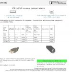 Hp Ps2 To Usb Wire Diagram | Wiring Diagram   Usb Mini B Wiring Diagram Pinout