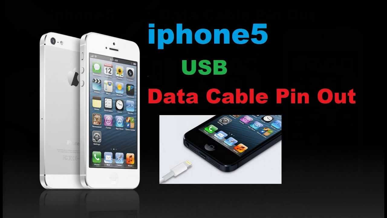 Iphone 6 Usb Data Cable Pin Out - Youtube - Wiring Diagram For Usb Cable To Ipod