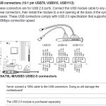 Keyboard And Mouse Do Not Work When Plugged Into Front Panel Usb 2.0   Front Panel Usb Wiring Diagram