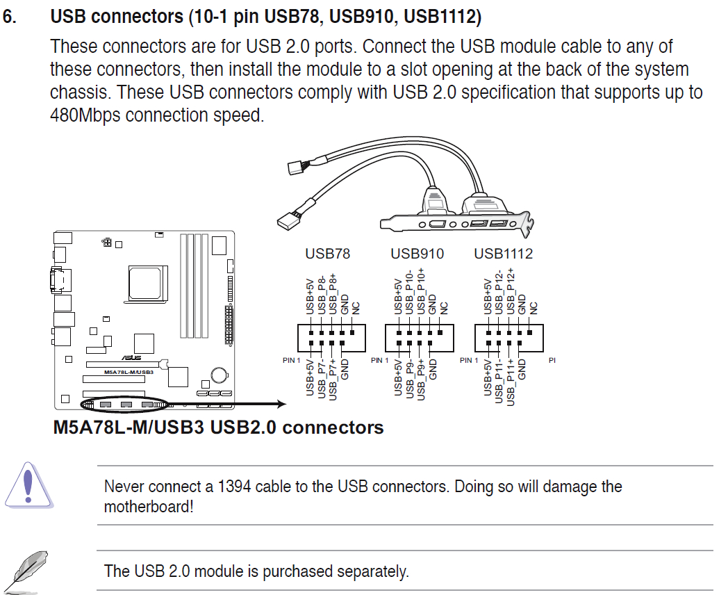 Keyboard And Mouse Do Not Work When Plugged Into Front Panel Usb 2.0 - Front Panel Usb Wiring Diagram