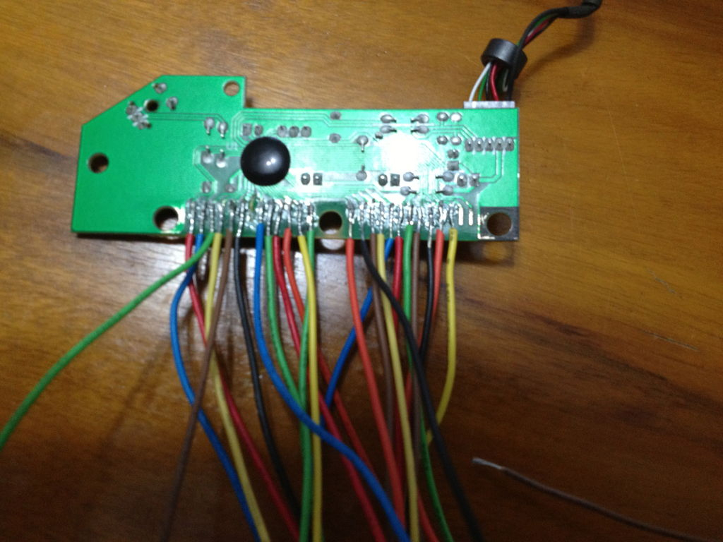 Keyboard Encoder For Mame Arcade: 6 Steps - Xin Mo Usb Encoder Raspberry Pi Wiring Diagram