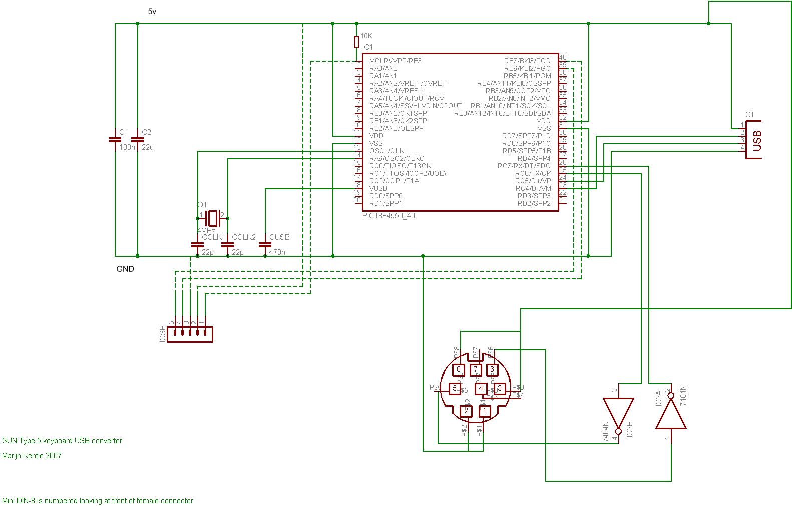 Keyboard Ps 2 Connector Wiring Diagram - Wiring Diagram Data - Usb Keyboard Wiring Diagram
