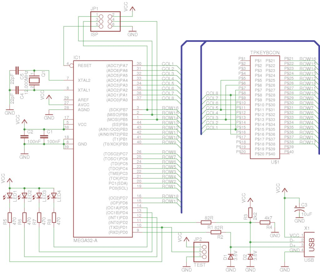 lars' electric endeavors - the thinkpad usb keyboard ... usb keyboard wiring diagram for wiring diagram for usb cord
