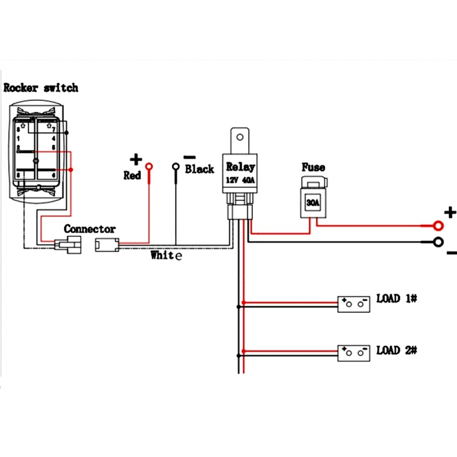 Led 4 Pin Rocker Switch Wiring Diagram | Wiring Diagram - Mictuning 2 Prong Usb Toggle Switch Wiring Diagram