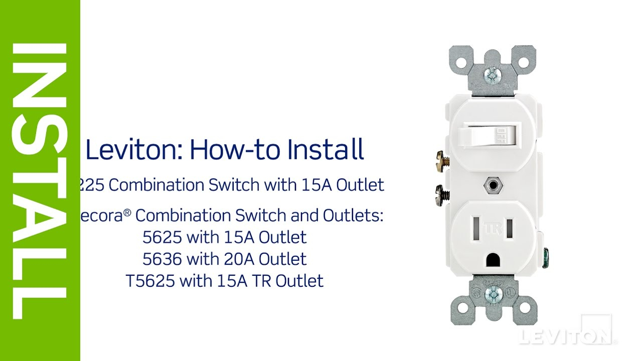 Leviton Presents: How To Install A Combination Device With A Single - Usb And Switch Wiring Diagram