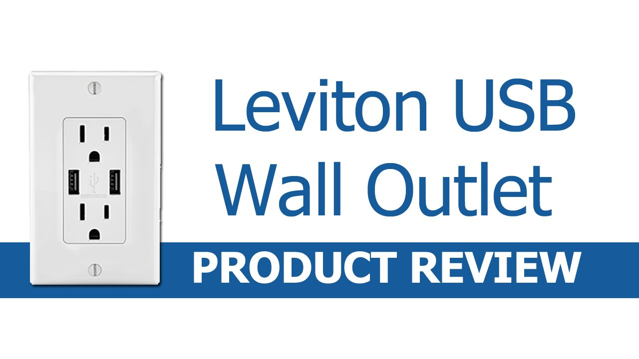 Leviton Usb Outlet Review And Quick Installation - Youtube - Leviton Usb Outlet Wiring Diagram