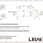 Levy Sound Design: 48V Phantom Powered Electret Condenser Microphone   Electret Microphone Wiring To Usb Diagram
