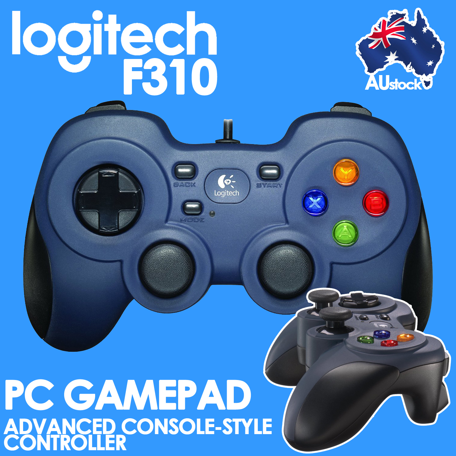 Logitech F310 Usb Gamepad Comfortable Wired Gaming Controller Pc - Logitech Controller F310 Usb Wiring Diagram