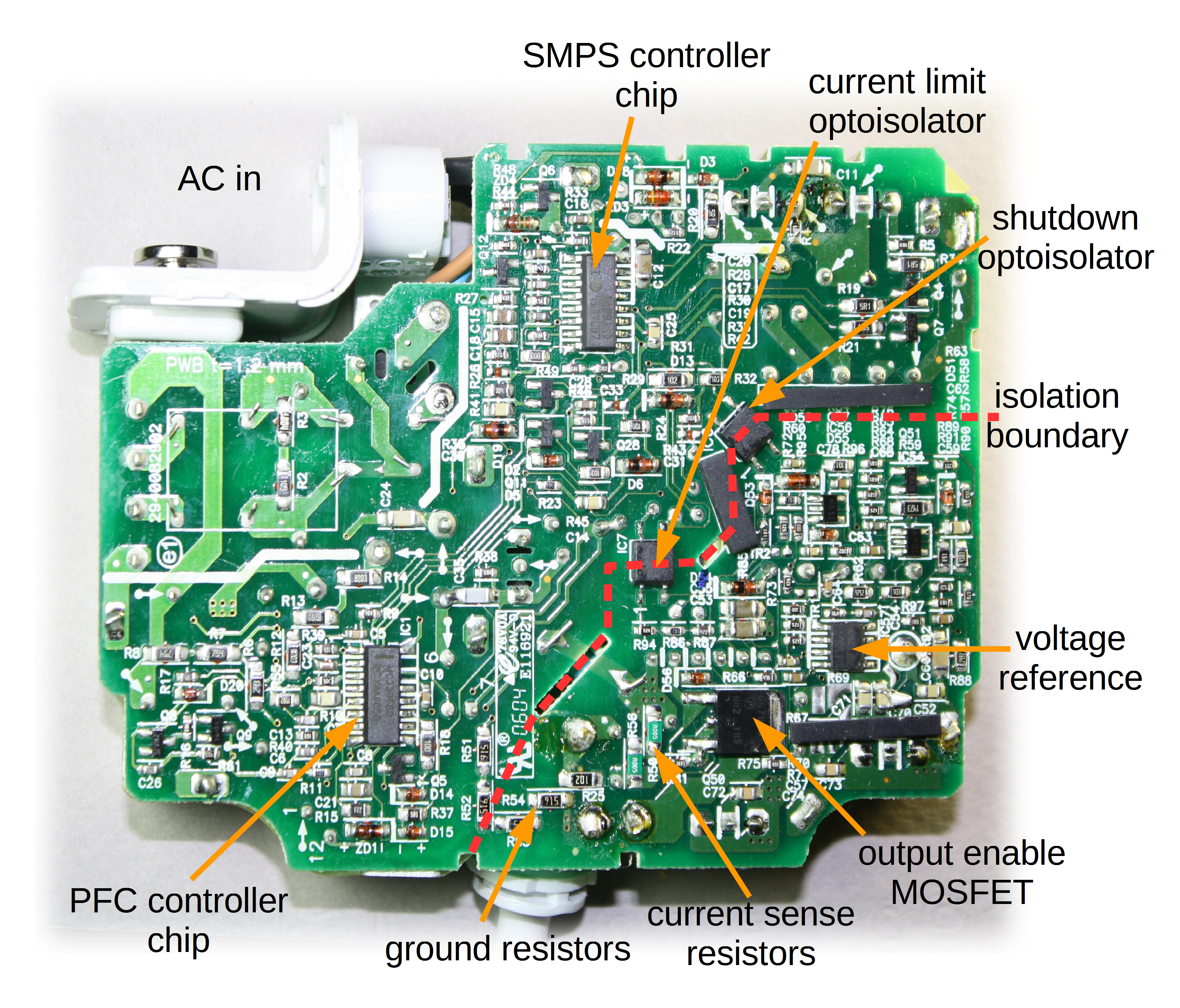 Macbook Charger Teardown: The Surprising Complexity Inside Apple's - Magsafe To Usb Wiring Diagram