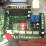 Mach3 Interface Board Cnc 5 Axis With Optocoupler Adapter Stepper   St 4045 A1 Wiring Diagram 4 Axis Usb Cnc Controller