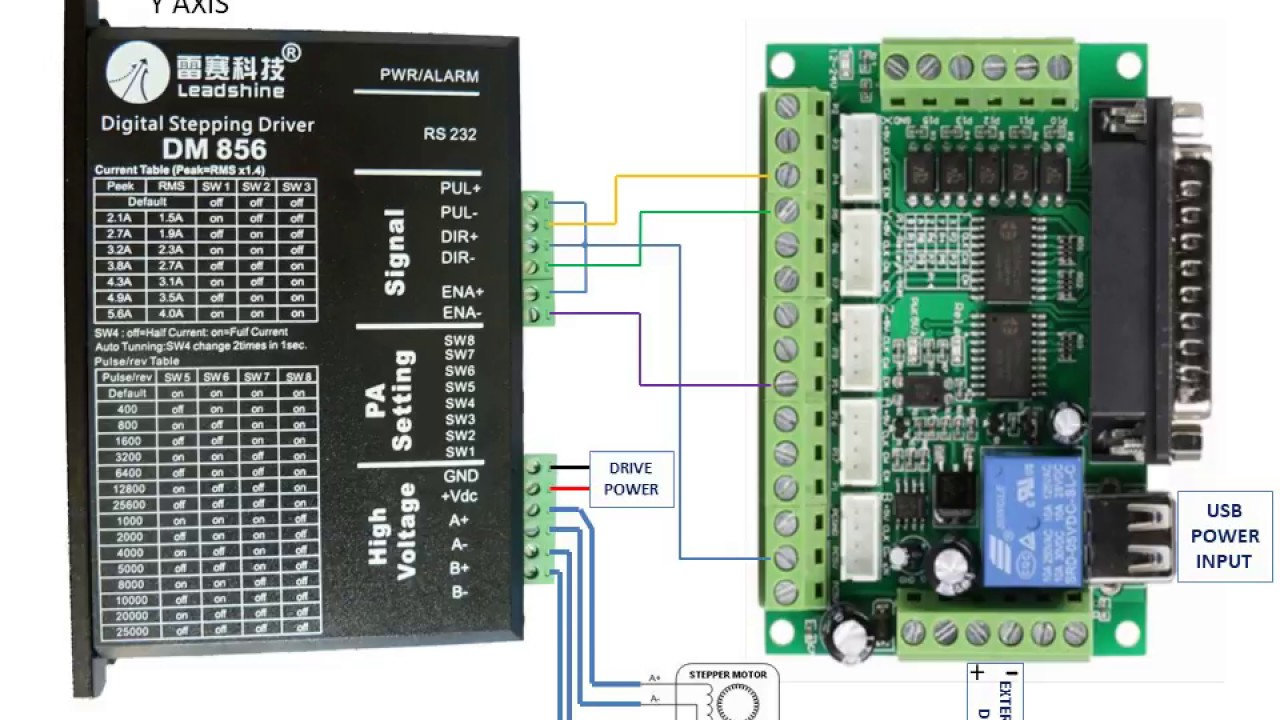 Mach3 Interface Board Wiring | Wiring Diagram - St-4045-A1 Wiring Diagram 4 Axis Usb Cnc Controller