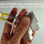 Make The 3.5Mm Female Stereo To Male Ethernet Adaptor For Ir   Diy Wiring Diagram Male Ethernet To Female Usb
