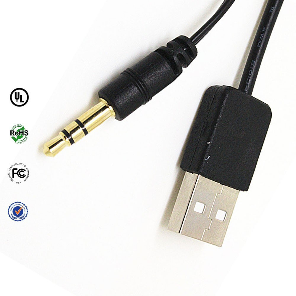 Usb To 3.5 Mm Jack Adapter For Charging Wiring Diagram ...