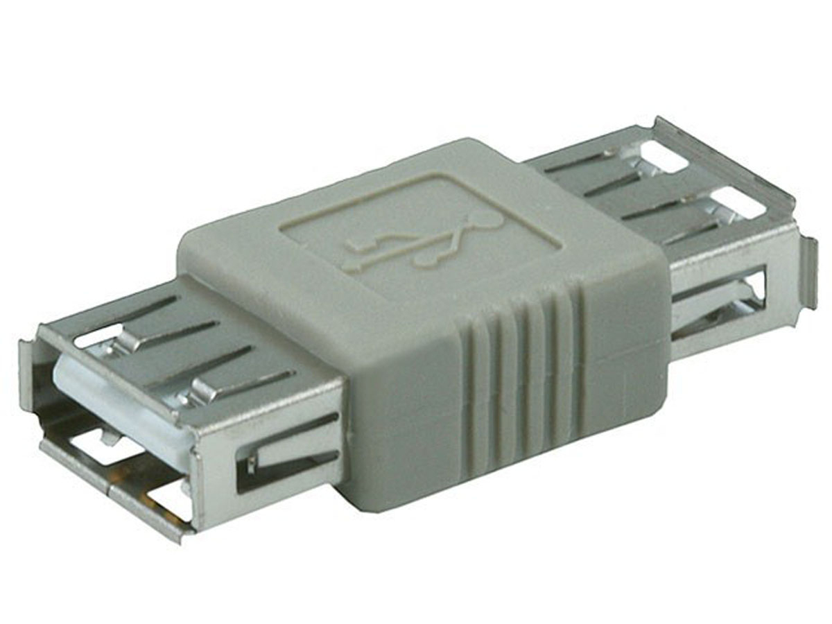 Monoprice Usb 2.0 A Female To A Female Coupler Adapter - Monoprice - Usb Female To Female Adapter Wiring Diagram