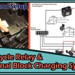 Motorcycle Usb Charger Terminal Block/relaytheory & Setup (Rainproof   Wiring Diagram For Usb Charger