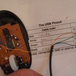 Mouse With Usb Port (Optional Internal Drive): 6 Steps (With Pictures)   Onn Corded Mouse Usb Wiring Diagram