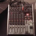 My Mixer Setup, The Behringer Xenyx X1204 Usb With Fx   Youtube   Behringer Q802 Usb Wiring Diagram For Podcasting