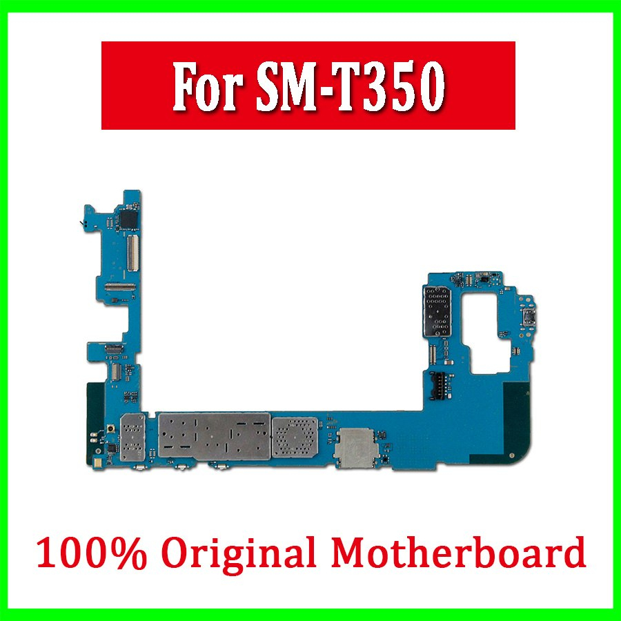 Original Unlocked Mainboard With Full Chips For Samsung Galaxy Tab A - Wiring Diagram Sm-T350 Usb Port Ribbon Cable
