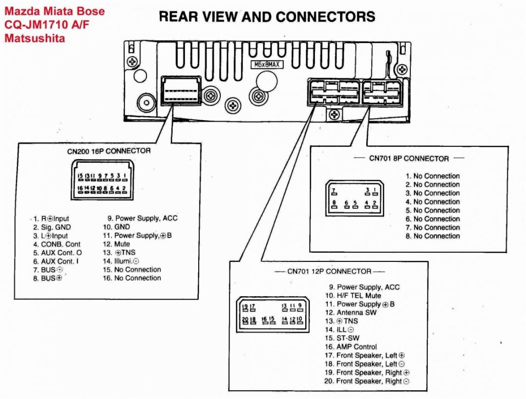 Pioneer Car Stereo Wiring Harness Deh 1600
