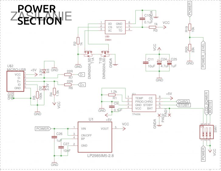 Tp4056 Usb Charger Wiring Diagram