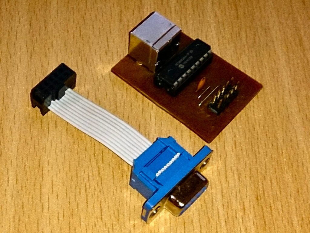 Ps  2 Mouse To Amiga Db9 Adapter