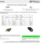 Ps 2 Mouse Wiring | Wiring Diagram   Wiring Diagram To Change A 6 Pin Keyboard Cable To A Usb