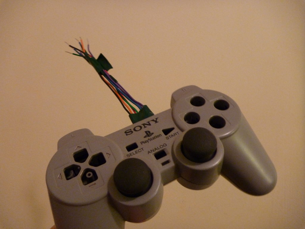 Ps1 Controller Joysticks With Arduino: 5 Steps (With Pictures) - How To Usb A Ps1 Controller For The Playstation 3 Wiring Diagram