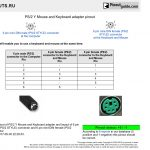 Ps2 Mouse Pinout Diagram | Manual E Books   How To Convert Ps2 Mouse To Usb Wiring Diagram