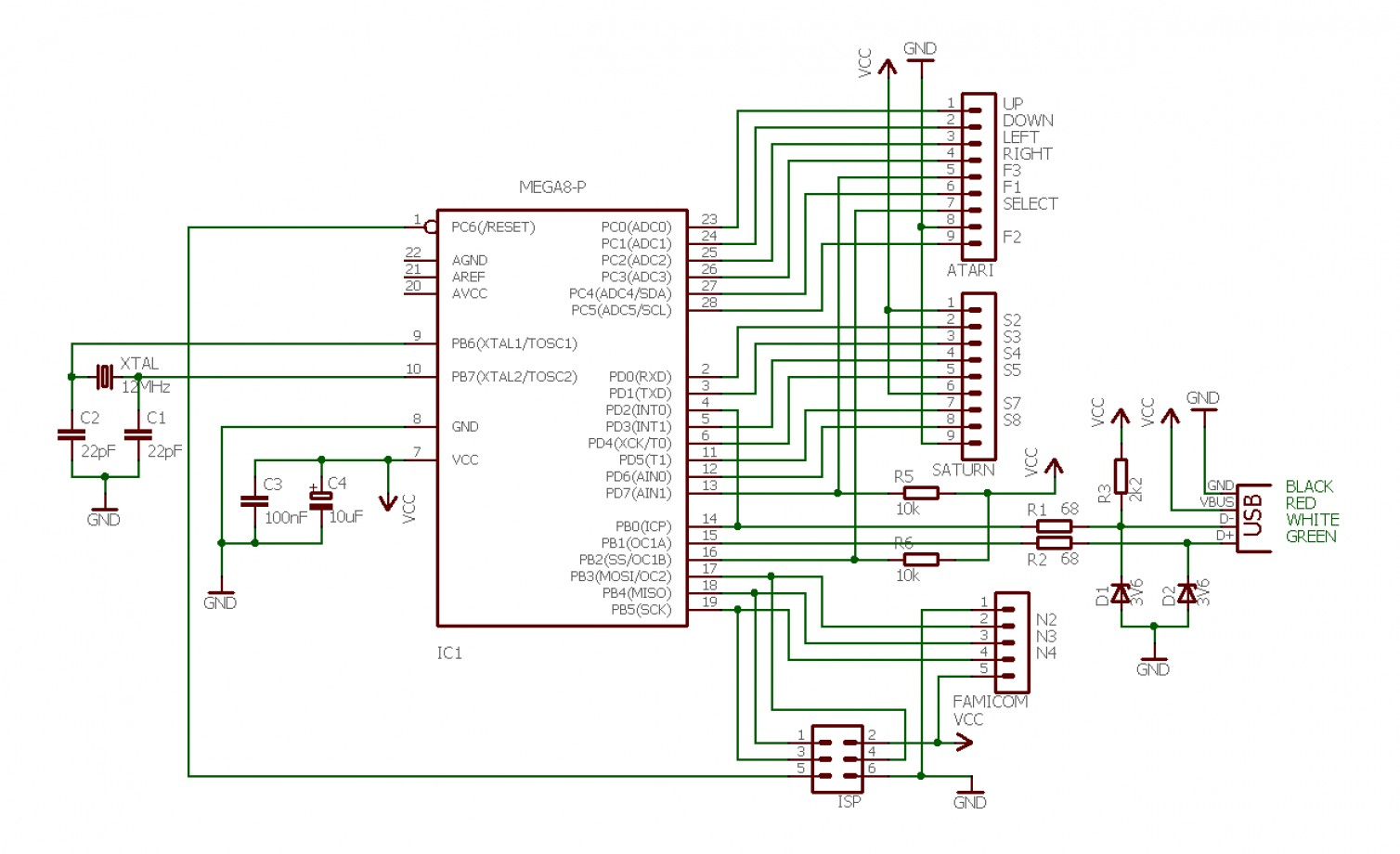 Ps2 Controller Wiring Diagram Usb