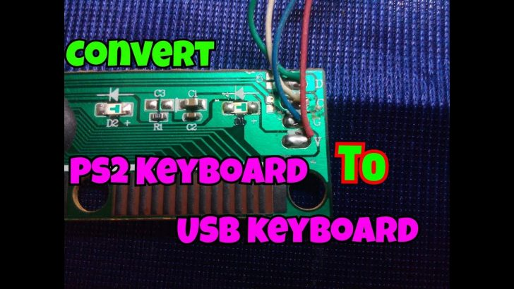Usb Keyboard Tops2 Adapter Wiring Diagram