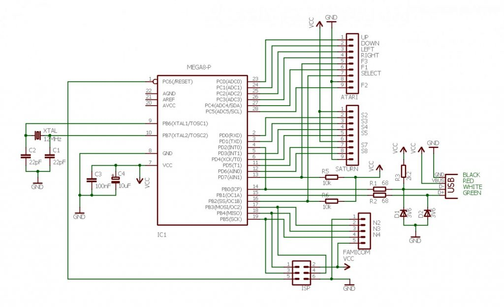 wiring diagram for ps2