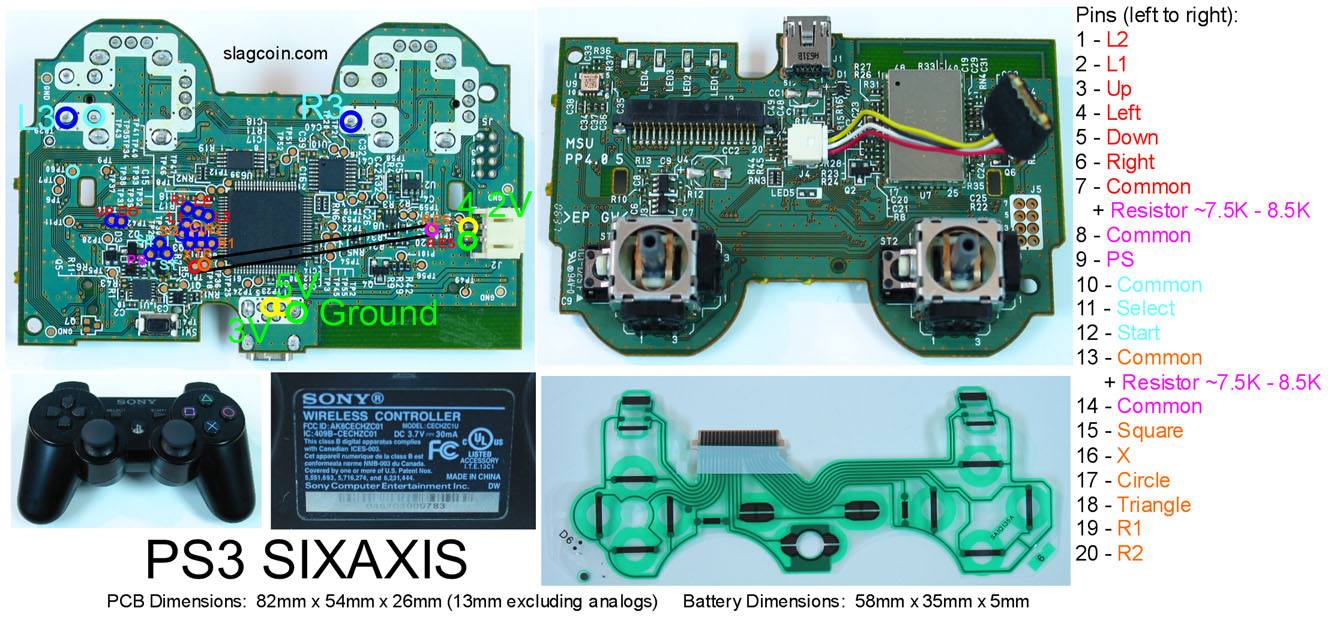 Ps3 Controller Pcb Diagram - Great Installation Of Wiring Diagram • - Ps3 Controller Usb Wiring Diagram