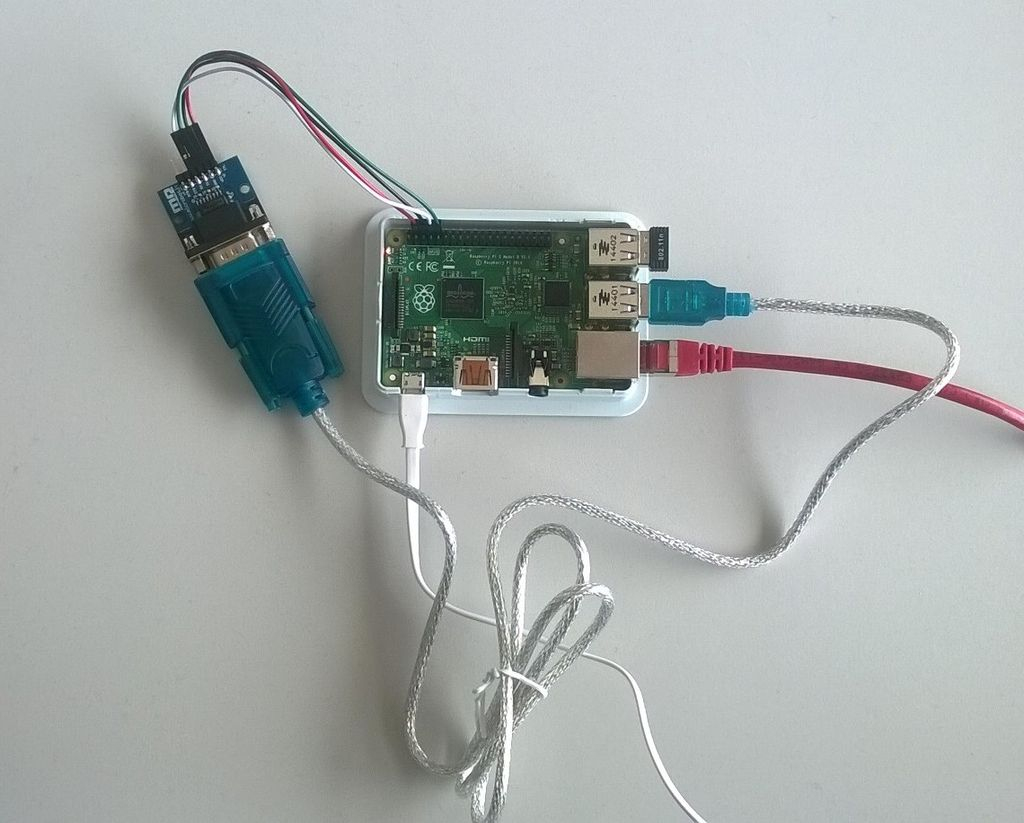 Read And Write From Serial Port With Raspberry Pi (With Pictures) - Usb To Serial Adapter Wiring Diagram Raspberry Pi