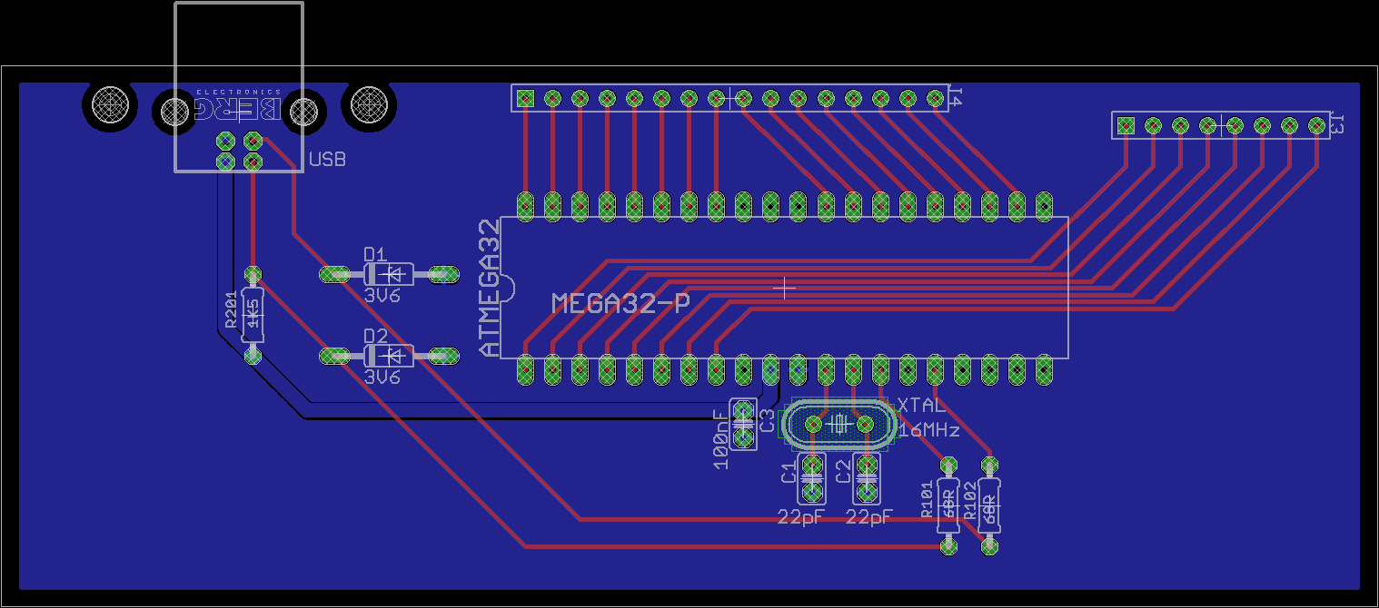 Real Usb Model-M Pcb - Ps2 Model M To Usb Wiring Diagram