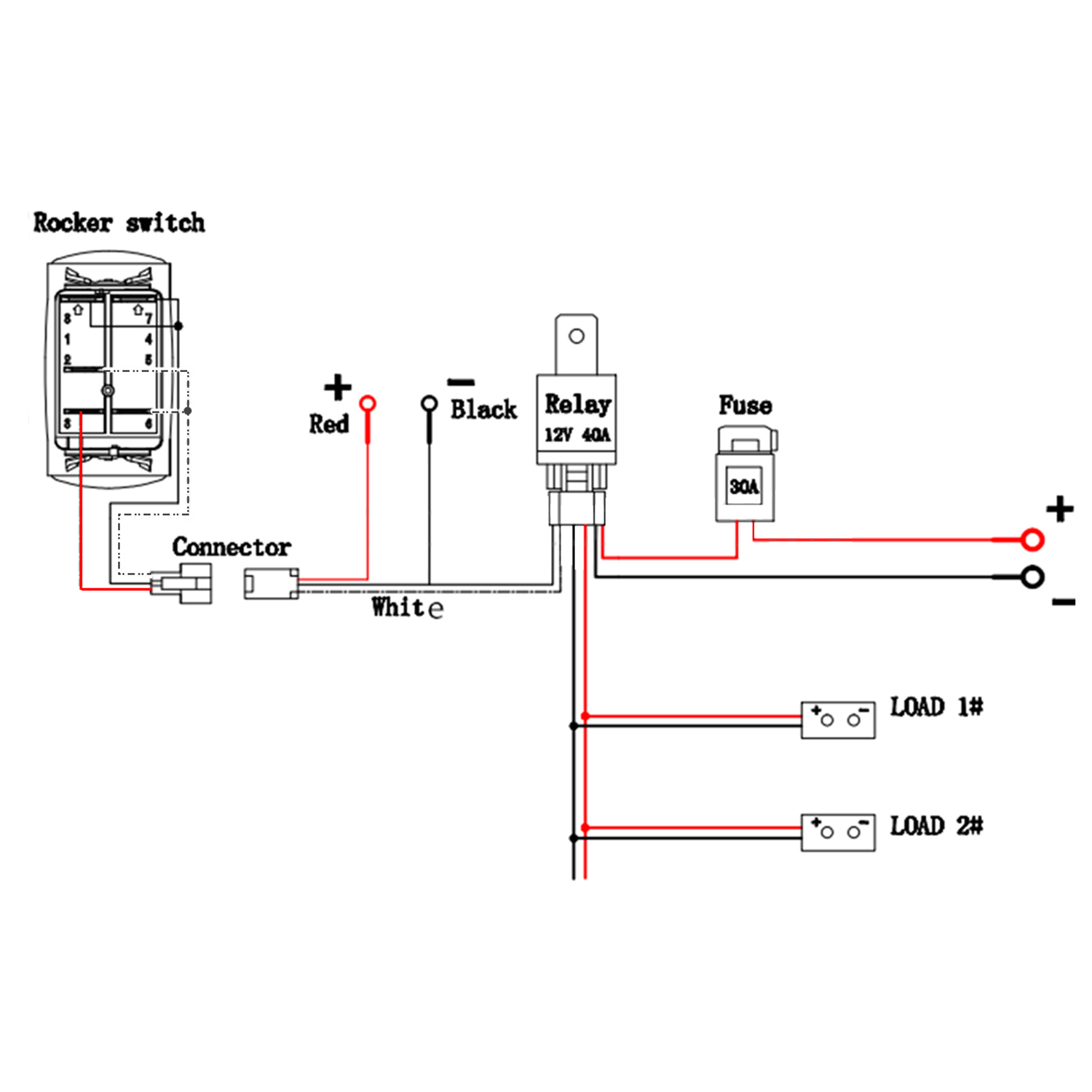 Rocker Switch Wiring Diagram 5 Wire | Manual E-Books - Mictuning Usb Toggle Switch Wiring Diagram