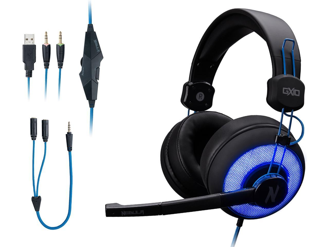 Rosewill Nebula Gx10 Gaming Headset With Microphone For Pc / Ps4 - Wiring Diagram Of Rosewill Usb Headset