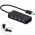 Sabrent 4-Port Usb 3.0 Hub With Individual Power Switches And Leds – Wiring Diagram Of Microsoft 4 Port Usb Hub