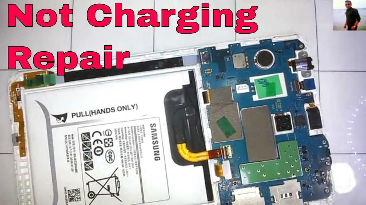Samsung Galaxy Tab A6 (Sm-T285) Not Charging Repair - Youtube - Wiring Diagram Samsung Galaxy Tab A T350 Usb To Battery