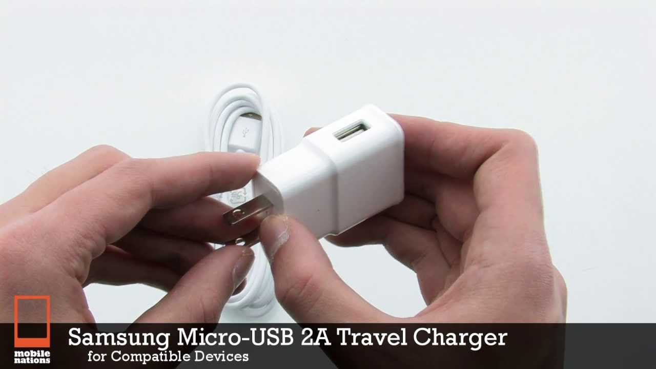 Samsung Micro-Usb 2A Travel Charger - Youtube - Micro Usb To Samsung Adapter Wiring Diagram