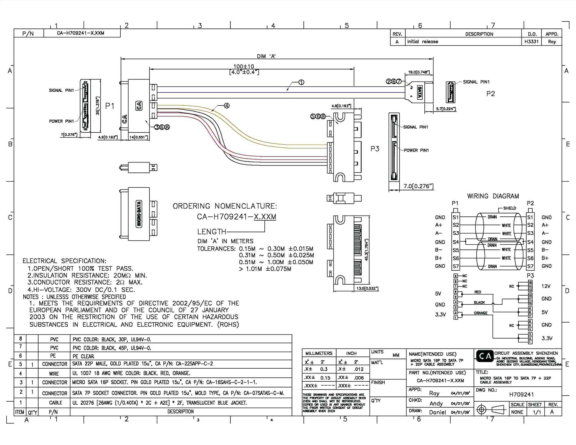 Sata To Usb Cable Wiring Diagram Copy Usb Serial Wiring Diagram I To - Usb A To Usb A Cable Wiring Diagram