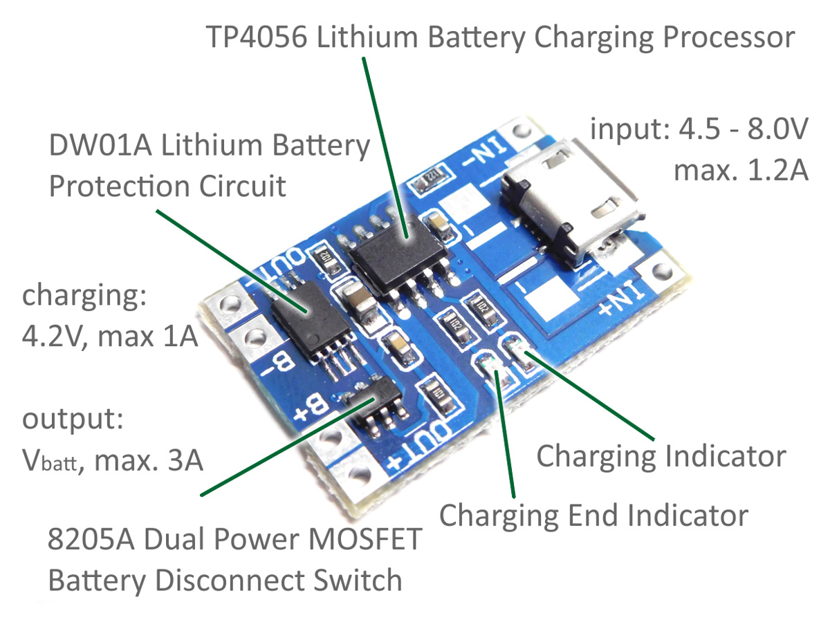 Scavenger's Blog: Lithium Battery Charger Using Tp4056. - Tp4056 Usb Charger Wiring Diagram