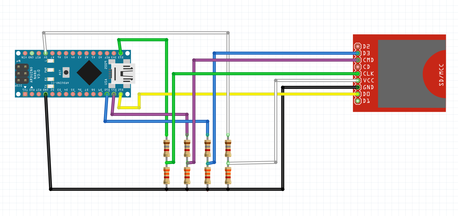 Sd Card Circuit Diagram - Data Wiring Diagram Today - Microsd To Usb 2.0 Wiring Diagram