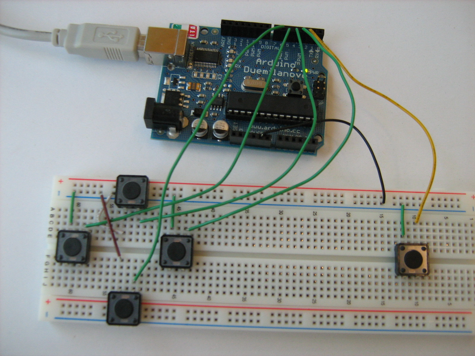 Serial Communication With Arduino And Processing: Simple Examples - Mega Joystick Controller To Arduino Usb Wiring Diagram