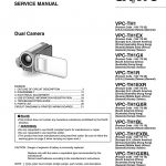 Service Manual Dual Camera Vpc Th1 Vpc | Manualzz   Usb Wiring Diagram Micro Camera Brown Green Red Sv D+ D